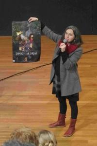 Tournée scolaire de films d'animation doublés en breton, au Malamock au Guilvinec (janvier 2014)