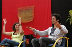 Laetitia Morvan et Olivier Schétrit