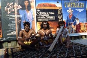 Aborigènes1991-Paugam-trio sur tapis