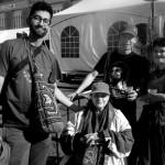 CG-avec Marta Rodríguez, Gustavo Pedraza et Naibaf Serrot.