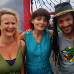 CG - Eurydice Calméjane, réalisatrice de Harmonies,  Annaïg Le Naou, Mustaflex