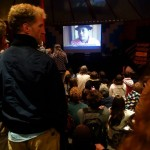 CG projection Canal Ti Zef, journal vidéo quotidien du festival