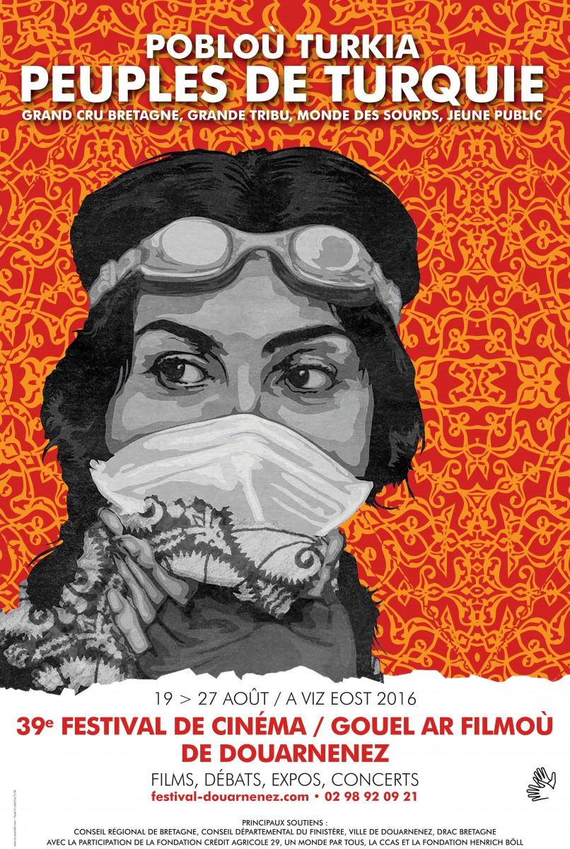 Affiche 39e FestivalDZ-BD