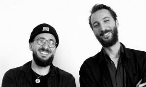 Le réalisateur Nabil Djedouani et DJ Kasbah.