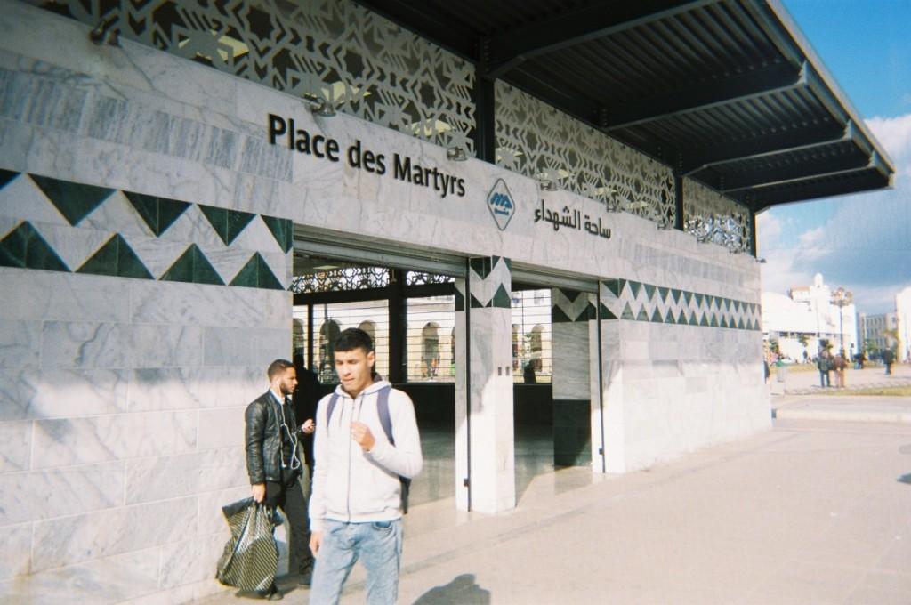 place des martyrs par Narime Baba QAïssa
