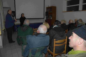 Projection de Cause commune de Sophie Averty, à l'Ile de Sein, dans le cadre du Mois du film documentaire (novembre 2013)