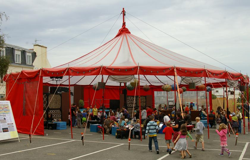 Le mini-festival au chapiteau